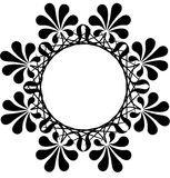 Floral circle pattern. Design  illustration Stock Photos