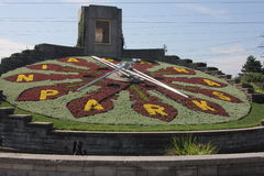 Floral Clock NFO Stock Photos