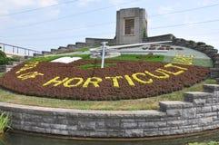 Floral Clock at Niagara Falls Royalty Free Stock Photography