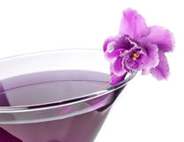 Floral cocktail Stock Image