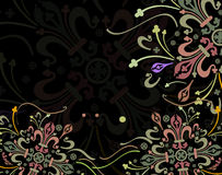 Floral color. Floral design Royalty Free Stock Photo