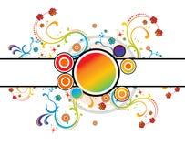 Floral color. Floral design Royalty Free Stock Image