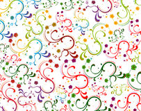 Floral color. Floral design Stock Images