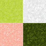 Floral color backgrounds - vector Stock Photo