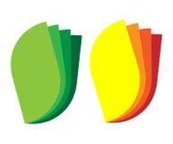 Floral Color Design Element. EPS 10 supported royalty free illustration