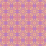 Floral colored seamless pattern. Bright background. For wallpapers, textile and fabrics Stock Photography