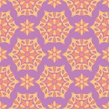 Floral colored seamless pattern. Bright background. For wallpapers, textile and fabrics Stock Photo