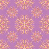 Floral colored seamless pattern. Bright background. For wallpapers, textile and fabrics Stock Images
