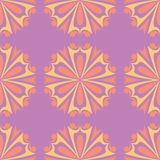 Floral colored seamless pattern. Bright background. For wallpapers, textile and fabrics Royalty Free Stock Images