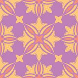 Floral colored seamless pattern. Bright background. For wallpapers, textile and fabrics Royalty Free Stock Image