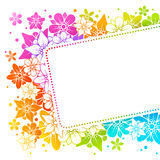Floral colorful background Royalty Free Stock Images