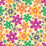 Floral colorful background.Vector Stock Image
