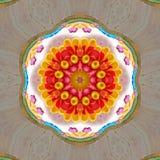 Floral colorful Kaleidoscopic mosaic texture. Floral Kaleidoscopic mosaic colorful texture stock image