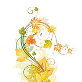 Floral compasition. Vector Floral compasition for design Stock Illustration