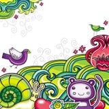 Floral composition 10 stock illustration