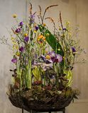 Floral composition, Easter Poland stock image