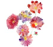 Floral composition. Mother`s Day, wedding, birthday, Easter, Valentine`s Day. royalty free stock photography