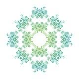 Floral concêntrico Ilustração Stock