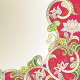Floral Corner Stock Images