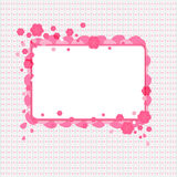 Floral cover background Stock Photo