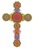 Floral cross of my God Stock Photography