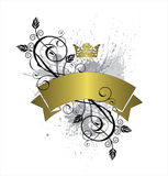 Floral Crown Background Royalty Free Stock Photos