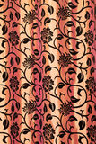 Floral curtain Stock Photo