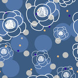 Floral cute pattern Royalty Free Stock Photo