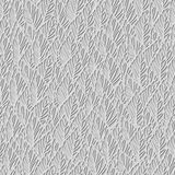 Floral 3d Seamless Pattern Background. Royalty Free Stock Photo