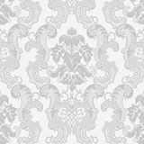 Floral damask pattern Stock Images