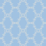 Floral damask seamless lace pattern. Vintage seamless baroque wallpaper. Stock Photography