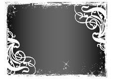 Floral de tierra ilustración del vector