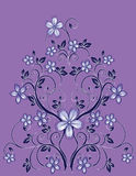 Floral decor Stock Image