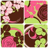 Floral decoration. Beautiful vector illustration Stock Images