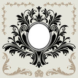 Floral Decoration Frame Royalty Free Stock Photo