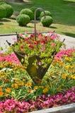 Floral decoration, spa Kudowa zdroj. State Poland Royalty Free Stock Images