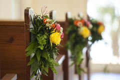 Floral decoration at wedding Royalty Free Stock Image