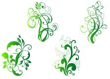 Floral decorations royalty free stock photography
