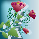 Floral decorations Royalty Free Stock Photos