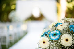Floral decorations for wedding Stock Photography