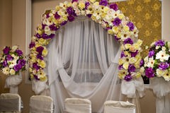 Floral decorations Stock Image