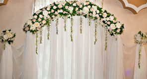 Floral decorations Stock Photo