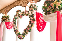 Floral decorations Royalty Free Stock Image