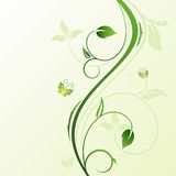 Floral decorative background Royalty Free Stock Photo