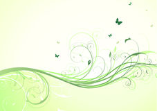 Floral Decorative background Royalty Free Stock Photos
