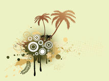 Floral Decorative background Stock Image