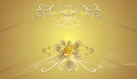 Floral decorative background for holiday's cards Royalty Free Stock Photo