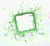 Floral Decorative frame Royalty Free Stock Photography