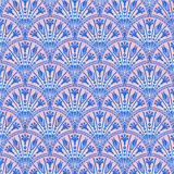 Floral decorative pattern royalty free illustration