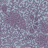 Floral-decorative-pattern Stock Photography